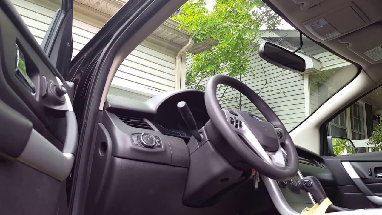 How To Fix Door Ajar Issue On 2012 Ford Edge With A Screwdriver 2014 F 250 Wiring Color Code Youtube