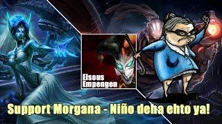 LOL RANKED DUO - Morgana Support, y la familia de SombraFurtiva