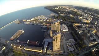 Gdynia-moje miasto! Para-spacer z Mechelinek do Gdyni