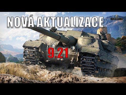 World of Tanks STREAM- Nová aktualizace-- Badger !!!! 🔥 💥