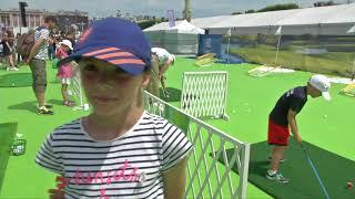 Journée Olympique : le golf bien plus qu'au rendez-vous