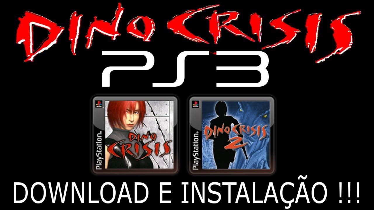 PS3/PS1 DINO CRISIS 1 & 2  DOWNLOAD e INSTALAÇÃO !!!
