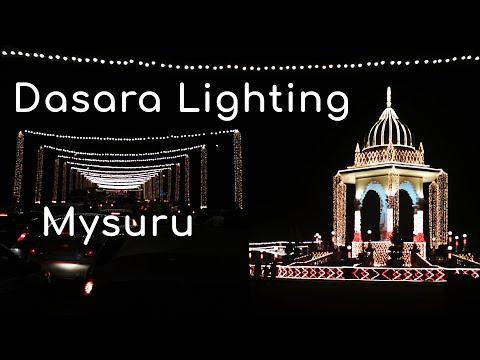 Dasara Light 2019 Mysore Dasara Mysore tourism Karnataka Tourism MysuruDasara Mysore City lights