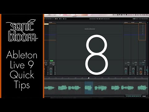 Ableton Live 9 Quick Tips – Zoom In Faster (Video Tutorial