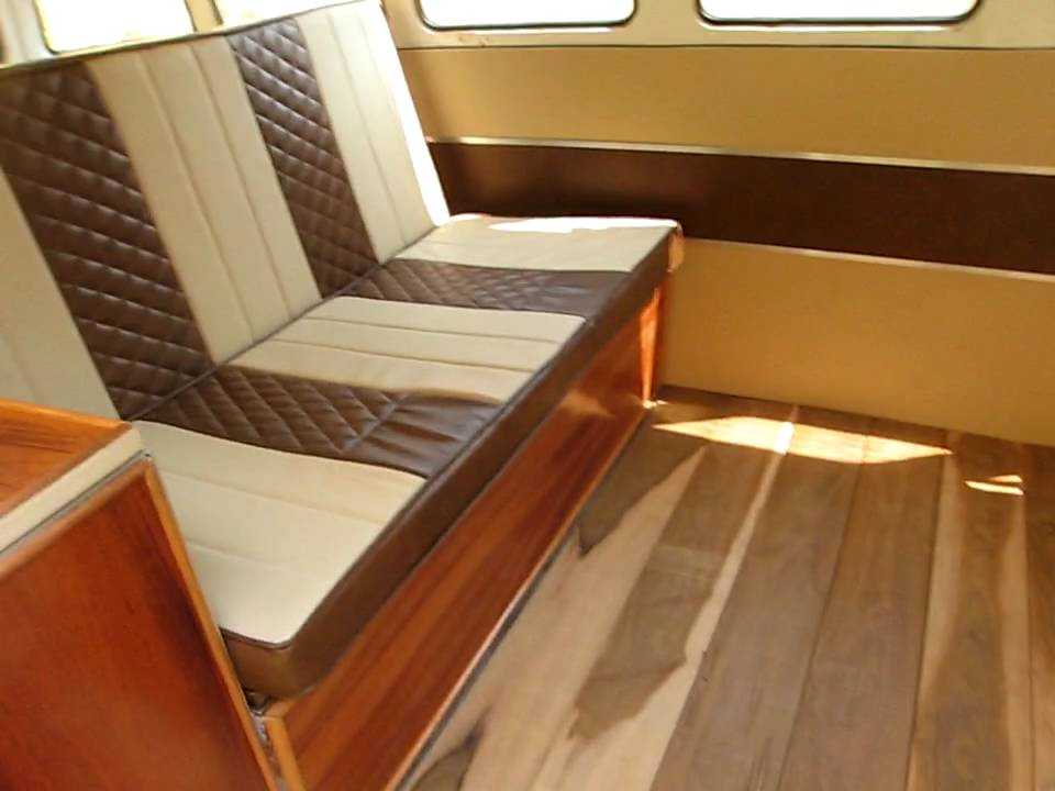 Presenting my vw bus 1975 interior youtube for Vw kombi interior designs