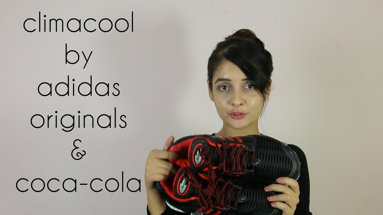 reputable site 1487a 9c4f1 ADIDAS ORIGINALS CLIMACOOL COCA-COLA BLACK AND RED FULL REVIEW