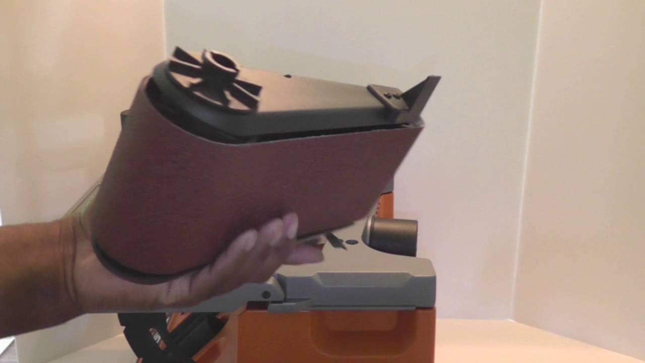 Ridgid Oscillating Sander Manual