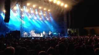 Green Day Live Concert Milano 24/05/13 - Luckiest fan on stage with Billie Joe