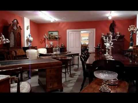 A quick walk through the showrooms of Regent Antiques of London wmv