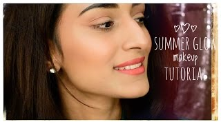 summer glow makeup tutorial