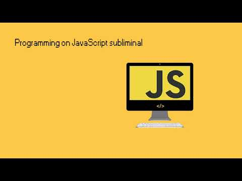 Become an amazing JavaScript programmer | subliminal | Messy lab