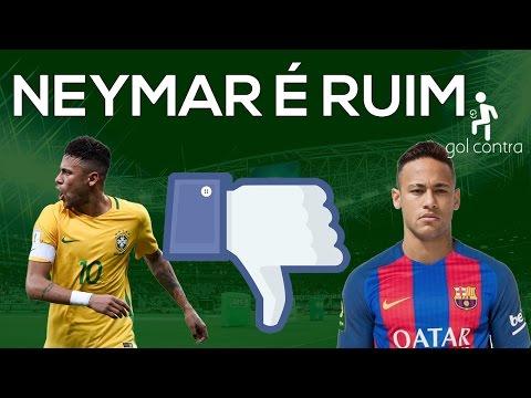 NEYMAR É RUIM
