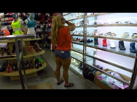 Aleesha Young shopping pt1