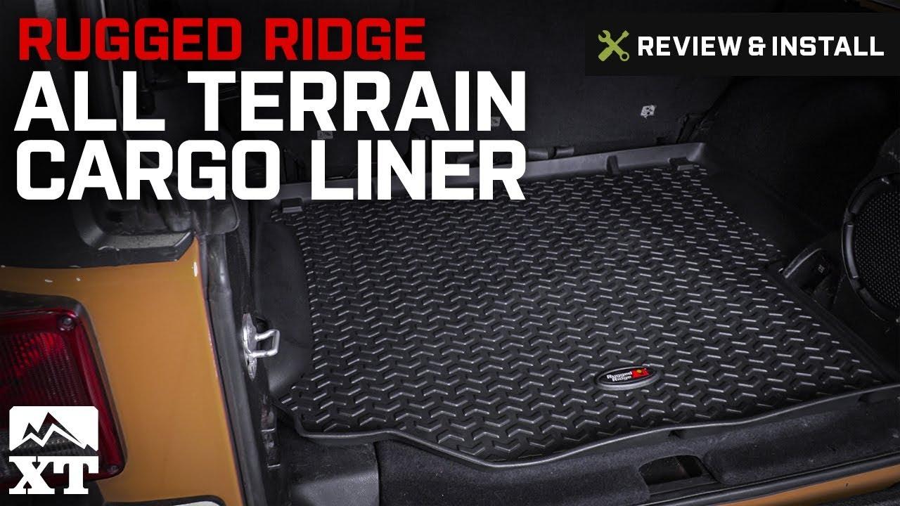 Jeep Wrangler Rugged Ridge All Terrain Cargo Liner 2011 2017 Jk