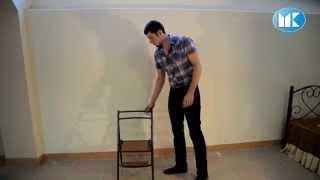 видео Стул стремянка: чертеж и конструкция