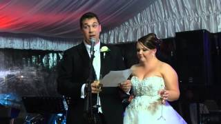 Reception - Speech - The Bride and Groom