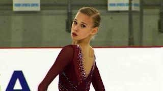Майя Хромых. Короткая программа. Девушки. Riga Cup. Гран-при по фигурному катанию среди юниоров 2019