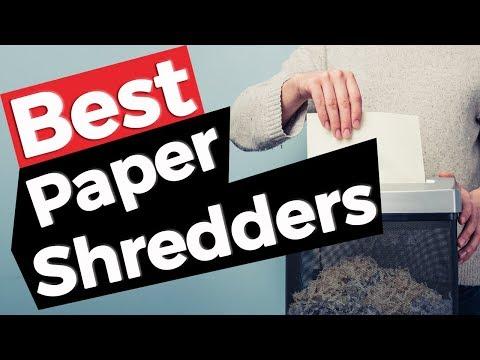 Paper Shredder: Best Paper Shredders 2019 - 10 TOP PRODUCTS