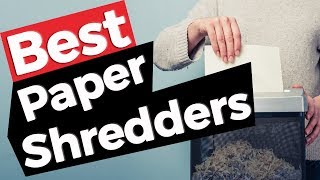 Paper Shredder: Best Paper Shredders 2019 - 10 TOP PRODUCTS