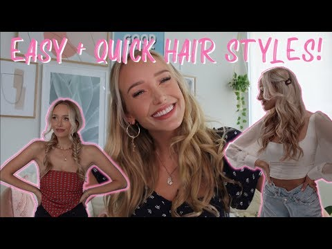 the-best-easy-+-quick-lazy-girl-hair-styles!-my-5-favorite-go-to-looks-💇🏼♀️💅🏻