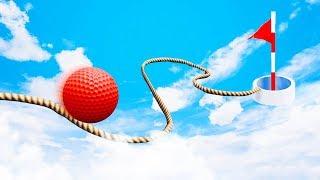 0% ШАНСОВ ПОПАСТЬ В ЛУНКУ! САМАЯ УЗКАЯ ДОРОГА К СЛОЖНОЙ ЛУНКЕ! ГОЛЬФ С ДРУЗЬЯМИ В ГОЛЬФ ИТ (Golf It)