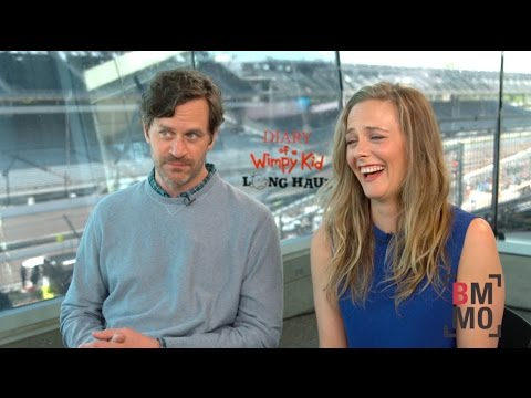 Alicia Silverstone & Tom Everett Scott Interview - Diary of a Wimpy Kid: The Long Haul