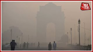 Delhi Pollution Rises To Hazardous Levels Leaving Residents Breathless