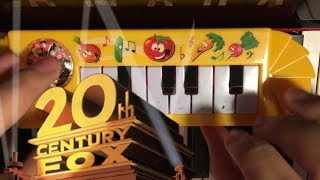 20th Century Fox Theme... but it's played on a $1 piano