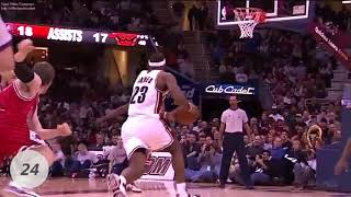 Lebron james top 50 plays of his career