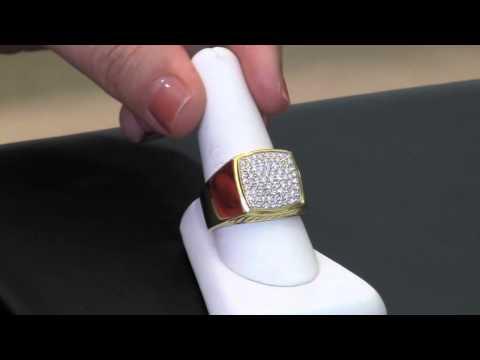 deal-of-the-month:-david-yurman-pave-signet-diamond-men's-ring