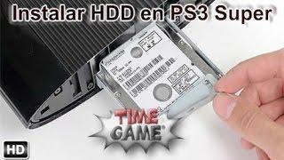 Como Instalar un HDD en Ps3 Super Slim