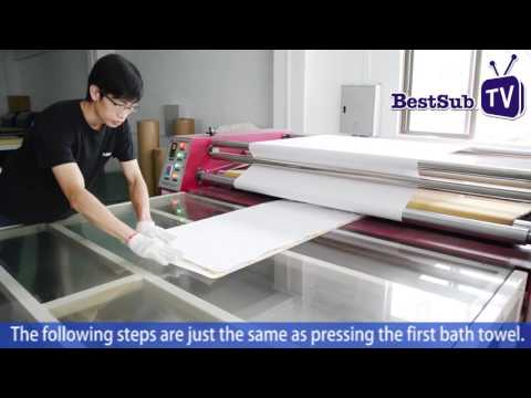 How To Sublimate Bath Towels