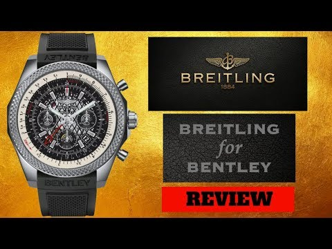 BREITLING BENTLEY B04 GMT MEN'S WATCH REVIEW MODEL: AB043112/BC69-220S