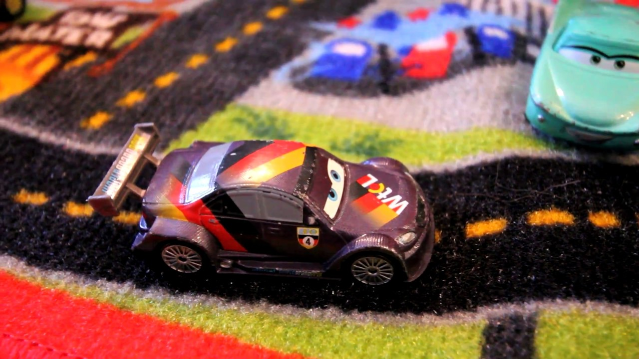 Cars Toys Radiator Springs Rug