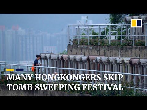 Coronavirus: Hong Kong's Tomb-sweeping Ching Ming Festival Sees Drop In Visitors