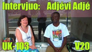 Intervjuo: Adjévi Adjé_UK-103_V20