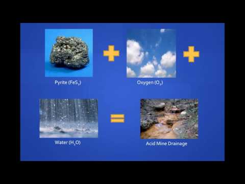 Acid Mine Drainage: An Overview And Sustainability