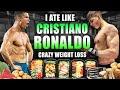 I ate like *CRISTIANO RONALDO* for a Day.......