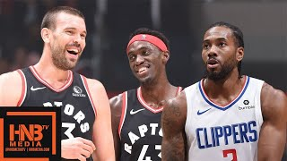 LA Clippers vs Toronto Raptors - Full Game Highlights  | November 11, 2019-20 NBA Season