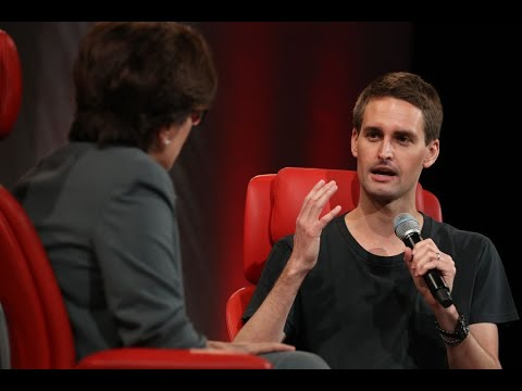 Evan Spiegel says the one thing Instagram can't copy is Snapchat's philosophy | Code 2018