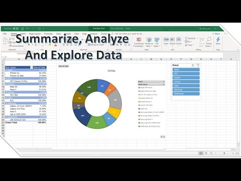 How To Summarize And Analyze Big Data Using Pivot Table - In