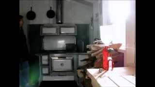 The Woodstove in the New Summer Kitchen pt 1 of 3