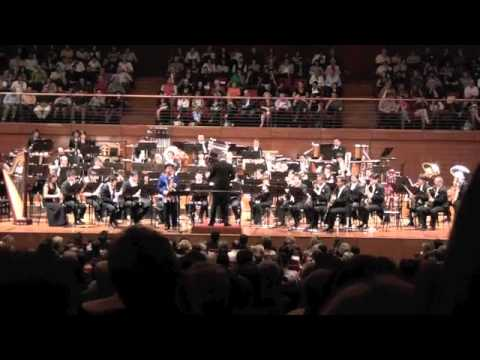 Tokyo Kosei Wind Orchestra - Dance of Uzume - Nobuya Sugawa Solo Sax - Live Lingotto Torino, Italy