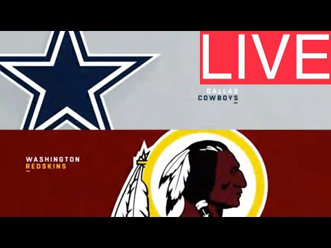 LIVE AUDIO Cowboys At Redskins (NFL 2019) PLAY-BY-PLAY STREAM REACTION | Dallas Vs Washington