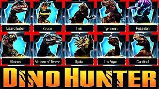 Dino Hunter [Full Game - [ B O S S ] Dinosaurs  Killing In One Shot]