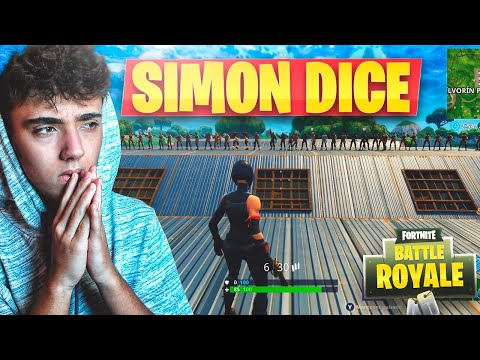 MINIJUEGO SIMÓN DICE en FORTNITE: Battle Royale!! - Agustin51