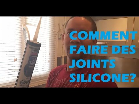 comment faire ses joints silicone comme un pro youtube. Black Bedroom Furniture Sets. Home Design Ideas