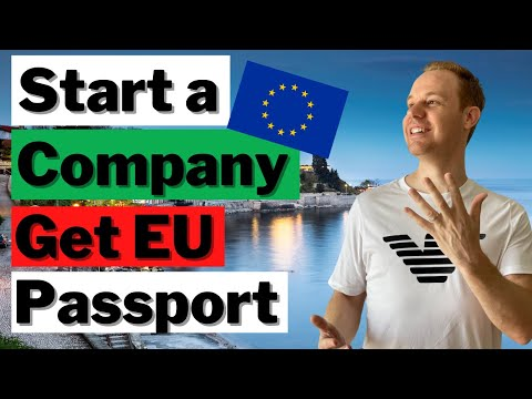 Fantastic New EU Citizenship by Investment Option (Form a Co