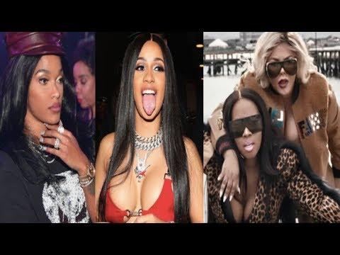 Joseline Hotep Hernandez drops a Cardi B DISS TRACK+ Lil Kim & Remy Drop  Visuals for