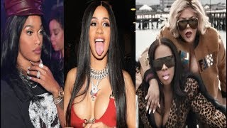 """Joseline Hotep Hernandez drops a Cardi B DISS TRACK+ Lil Kim & Remy Drop  Visuals for """"Wake Me Up"""""""